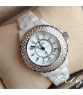 Керамические часы Chanel J12 Brilliants Mini