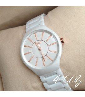 Керамические часы Rado Slim White