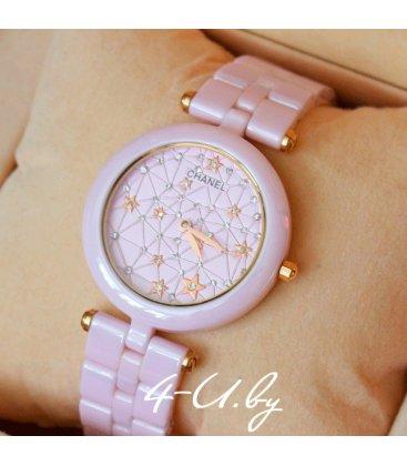 Керамические часы Chanel Pink