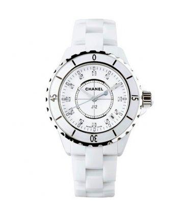 Керамические часы Chanel J12 White Mini